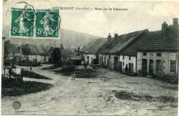 BEURIZOT (Côte D´Or):  Rue De La Chaume  Bureau De Tabac  Pub Chocolat Menier - Altri Comuni