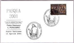 SEMANA SANTA 2001 - RESURRECCION De EL PERUGINO. Vaticano 2001 - Christianity