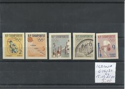 ALBANIA YVERT 626/30 ( SIN DENTAR)   MNH  ** - Summer 1964: Tokyo