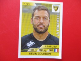 Panini Rugby La Rochelle N°135 Kevin Gourdon Saison 2015/2016 - Panini