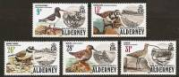 ALDERNEY 1984 - SEA BIRDS - 5v Mi 13-17 MNH ** Cv€28,00 R003 - Alderney