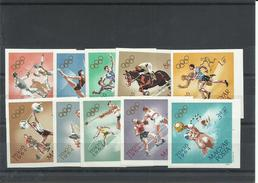 SERIE HUNGRIA YVERT 1649/58  ( SIN DENTAR)  MNH  ** - Summer 1964: Tokyo