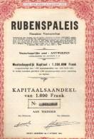 Rubenspaleis - Antwerpen - Actions & Titres