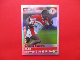 Panini Rugby Top Joueur  Biarritz Ngwenya N°46  Saison 2013/2014 - Franse Uitgave
