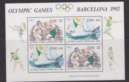 Ireland 1992 Olympic Games Barcelona M/s ** Mnh (32948) - Zomer 1992: Barcelona