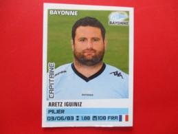 Panini Rugby  Bayonne Aretz Iguiniz  N°20  Saison 2013/2014 - Franse Uitgave