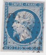 N° 14 Ba Bleu Vert  / PC   1441    GRANVILLE  /  MANCHE    LOT 14112 - 1853-1860 Napoleon III