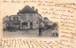78-PONTCHARTRAIN- LA PLACE DU MARCHE - Autres Communes