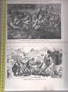 JEAN COUSIN IMP. - La Barque Des Reprouves Et Desscent De Croix - ALMANACH  HISTORIQUE DE L'YONNE - Estampes & Gravures