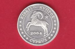 Chypre - 2 Centimes € - Essai - Argent - 2004 - Chipre