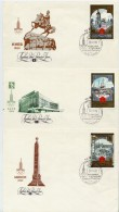 SOVIET UNION 1980 Olympic Games: Tourism IV Set Of 6 Covers, Michel 4949-54 - 1923-1991 USSR