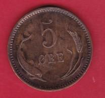 Danemark - 5 Ore - 1874 - Denemarken