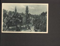 Freiburg I.Br. Schwabentor U. Münster (Kunstverlag Erwin Burda)  Gelaufen 1947 Mit Straßenbahn 2 Bilder - Freiburg I. Br.