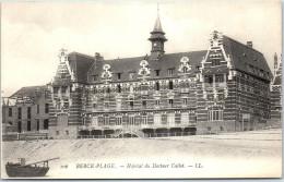 62 BERCK - Hopital Du Docteur Callot - Berck