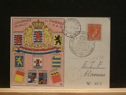 63/786  CP  LUX  1946  JOURNEE DU TIMBRE - Lettres & Documents