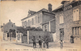 78-NEZEL- LA POSTE ET LA MAIRIE - Autres Communes
