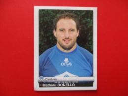 Panini Rugby Castres Mathieu Bonello N°146  Saison 2012 - Franse Uitgave