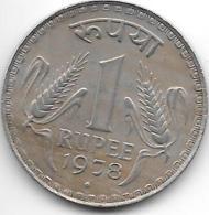 *india 1 Rupee 1978 B  Km 78.1   Unc - India