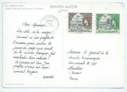 Basutoland. Publicité Amora Avec Affranchissement 1.5 Cent - Africa (Other)