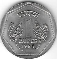 *india 1 Rupee 1985 B  Km 79.1   Unc - India