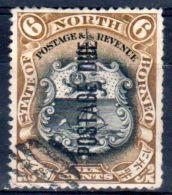 1897, North Borneo - Postage Due, Michel-No. 12, Oblitéré. Lot 46570 - North Borneo (...-1963)