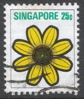 Singapore. 1973 Flowers And Fruits. 25c Used. SG 217 - Singapore (1959-...)