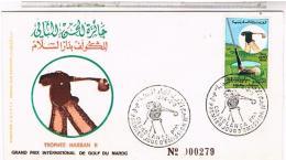MAROC ENVELOPPE 1° JOUR..N°  279 ANNEE 1974....MLM2 - Morocco (1956-...)