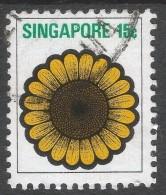 Singapore. 1973 Flowers And Fruits. 15c Used. SG 215 - Singapore (1959-...)