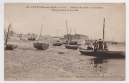62 PAS DE CALAIS - ETAPLES SUR MER Bâteaux De Pêche à Marée Basse (voir Descriptif) - Non Classificati