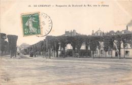 78-LE CHESNAY- PERSPECTIVE DU BLD DU ROI , VERS LE CHÂTEAU - Le Chesnay