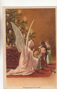 Hold-to-Light - Weihnachtsengel Mit Kindern      (161017) - Hold To Light