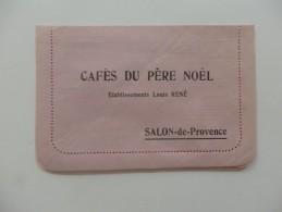 Bulletin De Commande Des Cafés Du Père Noel, Ets Louis René à Salon-de-Provence Dans Les Bouches-du-Rhône. - Lebensmittel