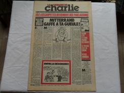 ANCIEN  /  LA SEMAINE DE CHARLIE   N° 1 / CH.H N° 548 /   MAI 1981 - Magazines Et Périodiques