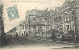 ILLIERS - école Primaire Supérieure De Garçons Et Avenue De La Gare. - Illiers-Combray