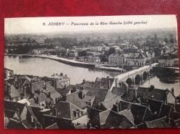 89 Joigny    Panorama De La Rive Gauche - Joigny