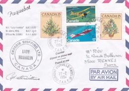 Canada - Enveloppe - Postal History