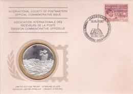 Groenland - Enveloppe & Médaille Argent - Expéditions Arctiques