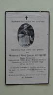 Mr L'Abbe Joseph Mathieu Bagnols Sur Ceze 1942 - Décès