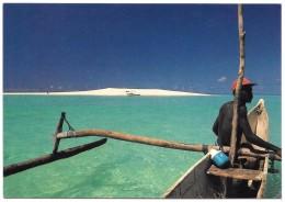 97 - M'Tsanga Tsohélé - îlot De Sable Blanc Au Sud De Mayotte - Ed. Shopping N° 114 - Pirogue à Balancier - Mayotte