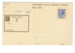 Centenario Della Prima Cartolina Postale 1874-1974 55 Lire Nuove C.175 COD. C.1050 - Italy
