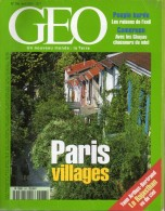 GEO  N° 266, Avril 2001 (Paris, Kurdes, Cameroun, Rajastan ...) - Géographie