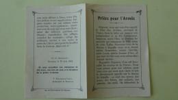 Priere Pour L'Armee Archeveque De Besancon 1914 - Documents