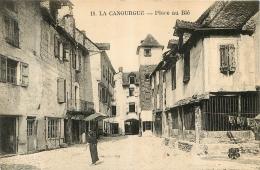 LA CANOURGUE PLACE AU BLE - Frankreich