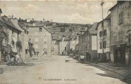 LA CANOURGUE LE POURTALOU GENDARMERIE NATIONALE ET CAFE NATIONAL - Frankreich