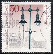!b! BERLIN 1979 Mi. 605 USED SINGLE (b) - Historic Street Lights, Berlin - [5] Berlin