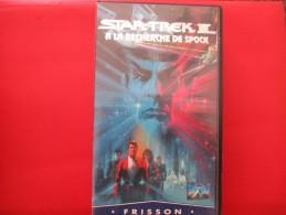 Cassette Video STAR TREK 3 A La Recherche De Spock - Sciences-Fictions Et Fantaisie