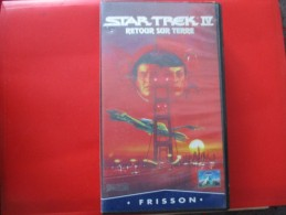 Cassette Video STAR TREK 4 Retour Sur Terre - Sci-Fi, Fantasy