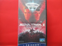 Cassette Video STAR TREK 5 L'ultime Frontiere - Sci-Fi, Fantasy
