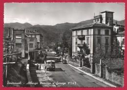 CPM Italie - Pontremoli - Albergo Principe E Garage Fiat - Massa