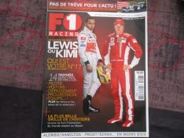 MAGAZINE F1 RACING N°106 DEC 2007 - Automobile - F1